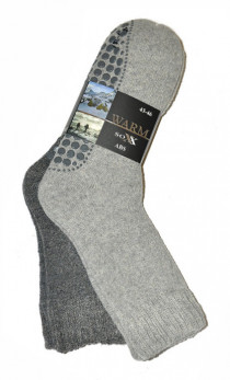 WiK - Skarpety 21463 Warm sox wolle ABS A'2