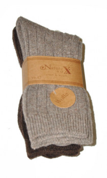 WiK - Skarpety 21381 Nature sox wolle A'2