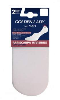 Golden Lady - Stopki 67G Pariscarpa invisibile 2Pack