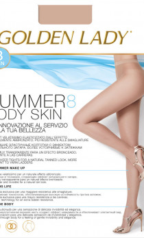 Golden Lady - Rajstopy Summer Body skin 8 den 5 (XL)