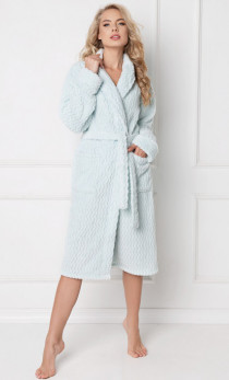 Aruelle - Szlafrok Minty bathrobe long