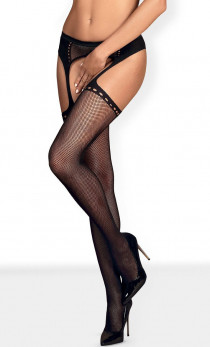 Obsessive - Pas S314 Garter stocking