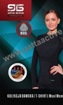 Gatta - Koszulka Woman Wool Thermoactive 2953S