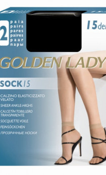 Golden Lady - Skarpetki Sock 15 den A'2
