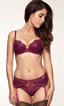 Gossard - Pas do pończoch 7712 Superboost purple
